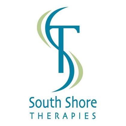 A logo for South Shore Therapies, which offers sensory integration treatment in Weymouth, MA